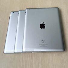 Lot Of 3 PCS iPad 2 2nd Gen WiFi Back Battery Cover Rear Housing A1395 Silver