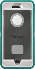 OtterBox DEFENDER iPhone 6 Plus/6s Plus Case -SEACREST(WHISPER WHITE/LIGHT TEAL)