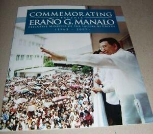 2010 IGLESIA NI CRISTO PHILIPPINES FOLDER ERANO MANALO 3RD series