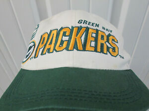 VINTAGE SPORTS SPECIALTIES NFL GREEN BAY PACKERS LASER SEWN SNAPBACK CAP HAT