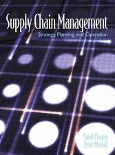 Supply Chain Management: Strategy, Planning and Operations by Chopra, Sunil, Me