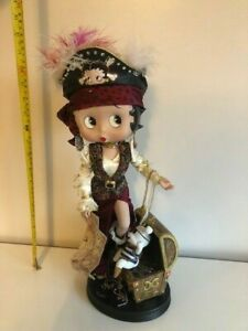 Betty Boop Extremely RARE Pirate with Danbury Treasure Chest