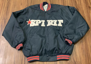 vtg San Bernardino Spirit jacket Minor League Baseball Ken Griffey Jr Team XL