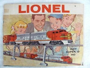 Vintage Original 1960 LIONEL ELECTRIC TRAINS CATALOG (54 pages)