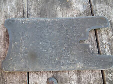 plaquette repose pieds  solex 3800 ou 2200 autre velosolex cycle ancien vintage