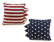 Stars and Stripes - 8 Regulation Cornhole Bags American Flag Bag High Quality