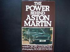 THE POWER BEHIND ASTON MARTIN,GEOFF COURTNEY AND ROGER STOWERS,1ST EDITION.