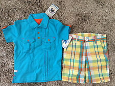 BNWT Rugged Butts Toddler Boys 2T/3T Two-Piece Outfit Set
