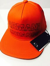 New Armani Exchange AX Mens REFRACTED LOGO HAT