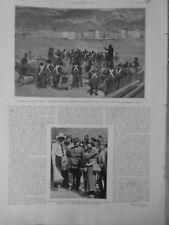 1927 NAPOLEON BONAPARTE SIEGE TOULON BATTERIE FRANÇAISE PORT VIEUX