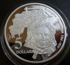 Australia Argento Sterling a prova di 5 DOLLARI 1995 Elizabeth MacArthur (ASW 1.06 OZ (ca. 30.05 g))