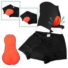 Shorts et cuissards noirs pour cycliste taille XXL