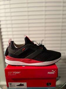 Puma Pacer Next Excel Core / Puma Black - High Risk Red - White Shoe Mens US 13