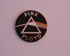 Pink Floyd Round Dark Side Of The Moon Badge Enamel Pin Badge