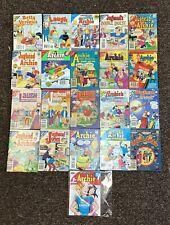 Archie Digest Archie  21 Lot Comic Book Comics Set Run Collection Box
