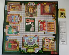 Simpsons Clue Game Piece Replacements Game Board & Detective Notebook Pad & Card
