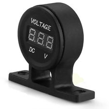New 12V Universal Car Digital Voltmeter Voltage Volt Meter Gauge Waterproof