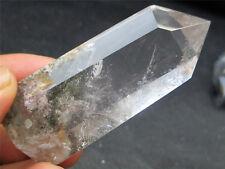 Lodolite Phantom Garden Picture Quartz Crystal Healing Point Wand Specimen 60g