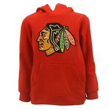Chicago Blackhawks Kids Youth Size Hooded Sweatshirt Reebok Official NHL New