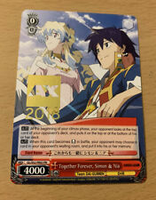 Anime Expo AX 2018 Weiss Weifs Schwarz TCG card SIMON NIA GL/S52-PE02 PR 4000