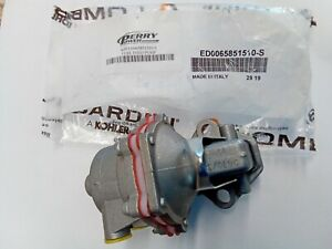 New Genuine OEM Kohler Diesel Lombardini ED0065851510-S Fuel Feed Lift Pump