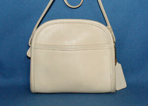 Vintage COACH BAG Abbie Mini Crossbody 9017 in Bone Leather