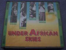 UNDER AFRICAN SKIES 2 x CD FATBOX 1989 BBC Africa Mali Zaire Ethiopia Algeria