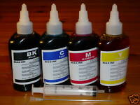 Bulk 400ml refill ink for HP ink cartridge printer 4 colors
