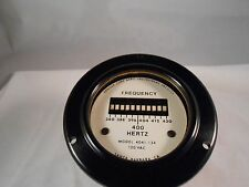 4041-134 FREQ METER 120VAC 400 HERTZ    NEW OLD STOCK 3 1/2""