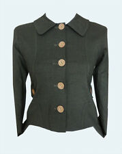 GREEN JACKET 6 - Fitted Jacket XS Country Casual Hunting Hunt UK6
