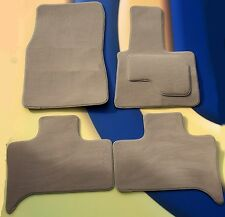 BMW X5 E70 2006 ON QUALITY TAILORED BEIGE CAR MATS 5 SEATS   4 X PADS B