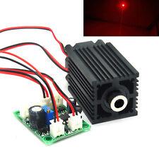 650nm 200mW Red Focusable Dot Laser Diode Module TTL Fan 12V Driver 660nm LED