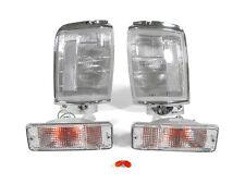 DEPO Clear Corner + Bumper Signal Lights For 84 85 86 87 88 89 Toyota 4Runner