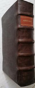 Ambrosius Operum Folio Basel Froben - 1527