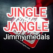More details for jim fxxed it for me medal - 80s tv medal badge  cheeky naughty rude adult gift