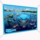 Finding Nemo Vinyl Indoor/Outdoor Banner Sign Poster 30  x 24 , Backdrop 2.5'x2'