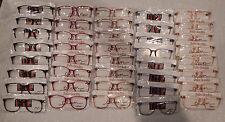 Vintage 40 Pc. Elan #7002 Asst Colors 56/16 Eyeglass Frame Lot Nos lot#45c