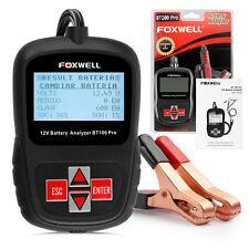 FOXWELL BT100 12V Battery Analyzer Pro 100-1100 CCA Battery Load Tester