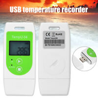 USB Temperature Humidity Recorder Data Logger PDF GSP Recorder Capacity 12000