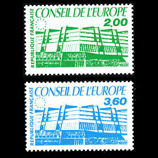 "France 1987 - Conseil de L'Europe ""Palace of Europe"" Architecture - Sc 1o40/ MNH"