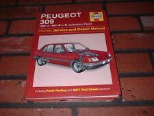HAYNES MANUAL FOR PEUGEOT 309. 1986 TO 1993. C TO K REGISTRATION