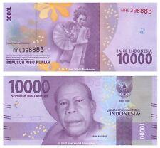 Indonesia 10000 Rupiah 2016  P-New  New Design Banknotes UNC