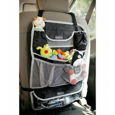 GRACO CAR ORGANISER BACK SEAT TRAVEL STORAGE TIDY POCKETS FOR BABY OR CHILD NEW