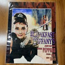 RARE Breakfast at Tiffany's Print Poster Enzo Nistri Hepburn Rockefeller Center