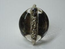 Vintage JACOB HILL Denmark Sterling  Modernist Silberring Gr.59 Silber Nr.204