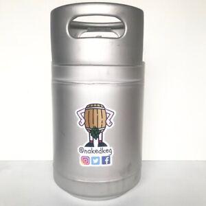 10L Corny Cornelius Beer Keg Steel Stackable Ball Lock Homebrew