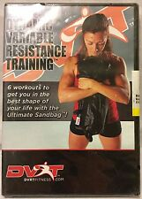 NEW Introduction to Dynamic Variable Resistance Training 6 Sandbag workouts DVD