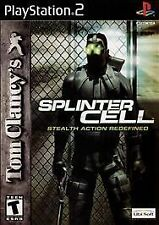 Tom Clancy's Splinter Cell (Sony PlayStation 2, PS2 2003)