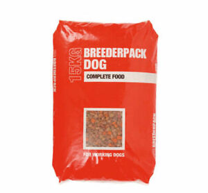 BREEDERPACK COMPLETE DRY WORKING DOG FOOD 15/30KG with FREE NEXT DAY DELIVERY