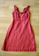 $158 MOULINETTE SOEURS Anthropologie Red Silk Sleeveless Size 0 NWT